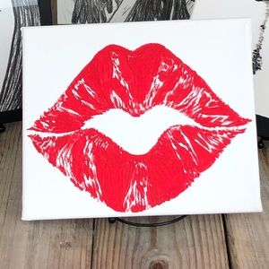 """Other - 🆕""""Kiss"""" Handmade Canvas Painting"""
